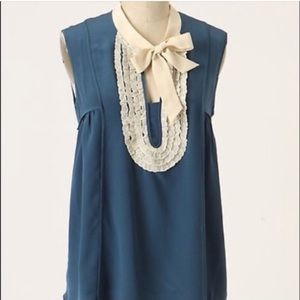 Anthropologie Girls From Savoy blouse size 2